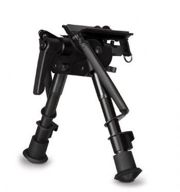"Hawke Bipod Swivel Tilt 6-9"" 15-23cm Adjustable Spring Loaded Legs 70010"